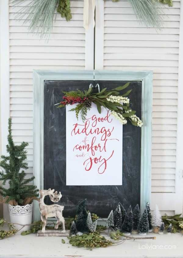 good tidings of comfort and joy 30 free christmas printables via a blissful nest