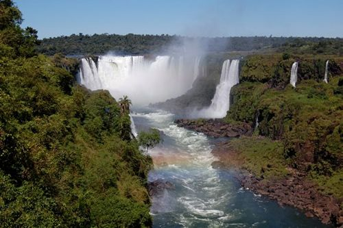 "Iguazu Falls in Brazil from ""Teach English and Live in Brazil."""