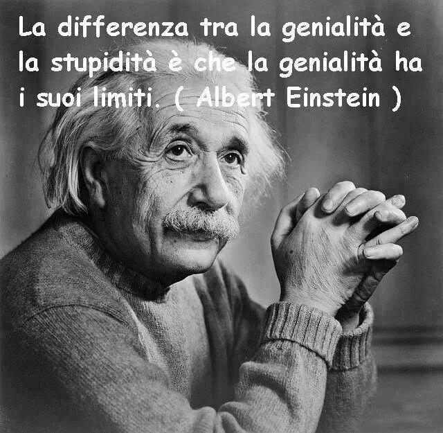 Albert Einstein - Genialità - Stupidità