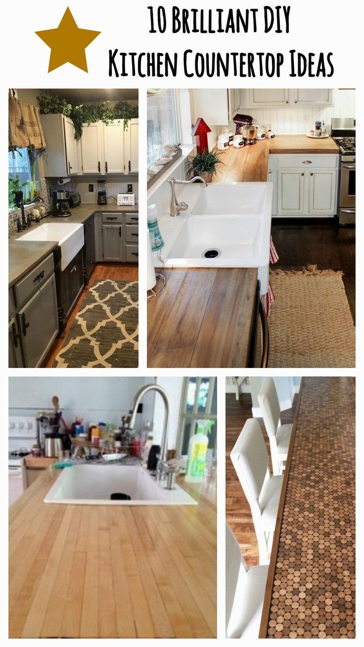 10 brilliant diy kitchen countertop ideas in 2020