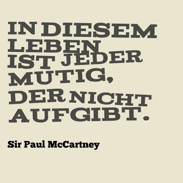 In diesem Sinne: Happy 72nd Birthday, Sir Paul!