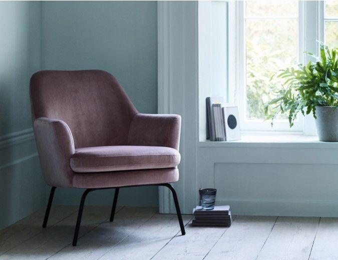 Celine Pink Velvet Armchair Pink Velvet Armchairs Compact Armchair Pink Armchair