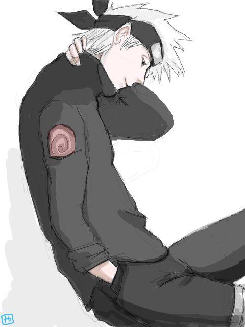 Day 7 (Biggest Anime Crush)- Kakashi Hatake, Naruto Series