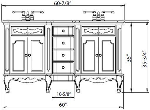 Best Bathrooms Images On Pinterest Bathroom Ideas Bathroom - Comfort height bathroom vanity for bathroom decor ideas