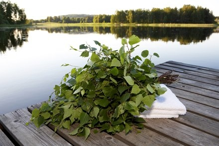 Finnish Sauna, the lake and long summer nights....