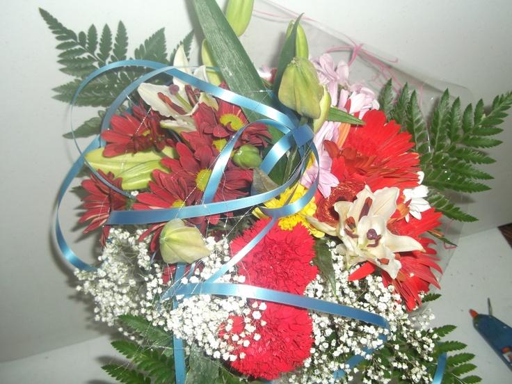 Ramo de flores a domicilio variadas