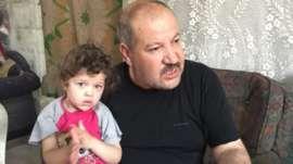 Mounib Zakiya and his daughter Rana (September 2015)