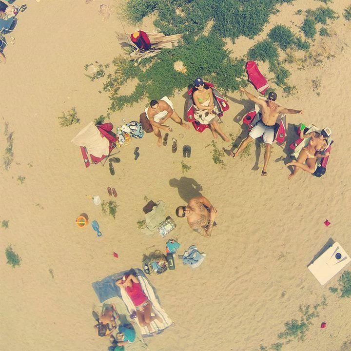On the Beach: la spiaggia dall'alto!
