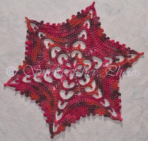 Snowflake crochet pattern ~ k8~