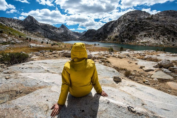 The John Muir Trail is 211 miles starting from Yosemite Valley and ending on the summit of Mt. Whitney traveling through the Sierra.