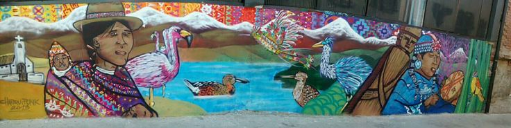 Mural en Valparaiso