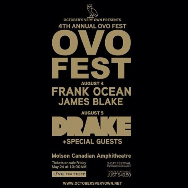 Drake_OVO_Fest_Flyer #allthebestinoneplace