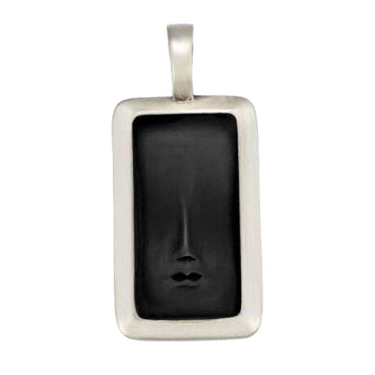 BICO AUSTRALIA JEWELRY (B68) VISAGE 3 - A SMALL HINTED FACE OF WISDOM #bico #jewelry #australia #usa #necklaces #energy #wisdom #face