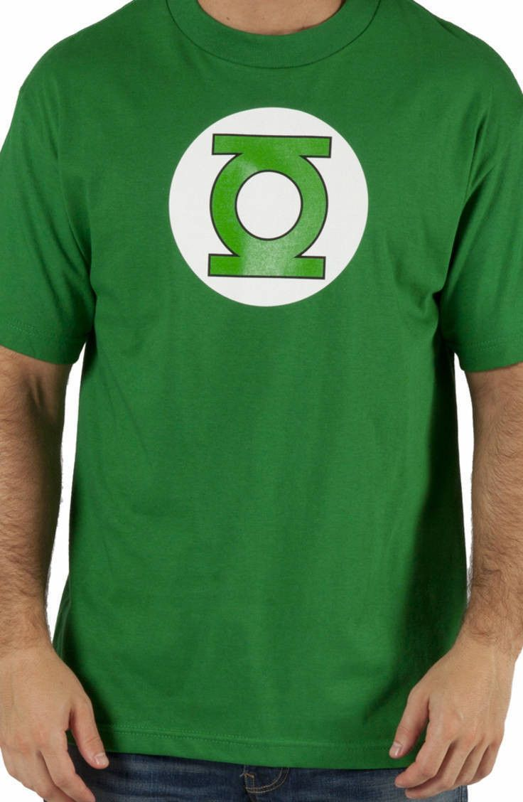 Green Lantern T-Shirt: DC Comics Justice League Green Lantern T-shirt