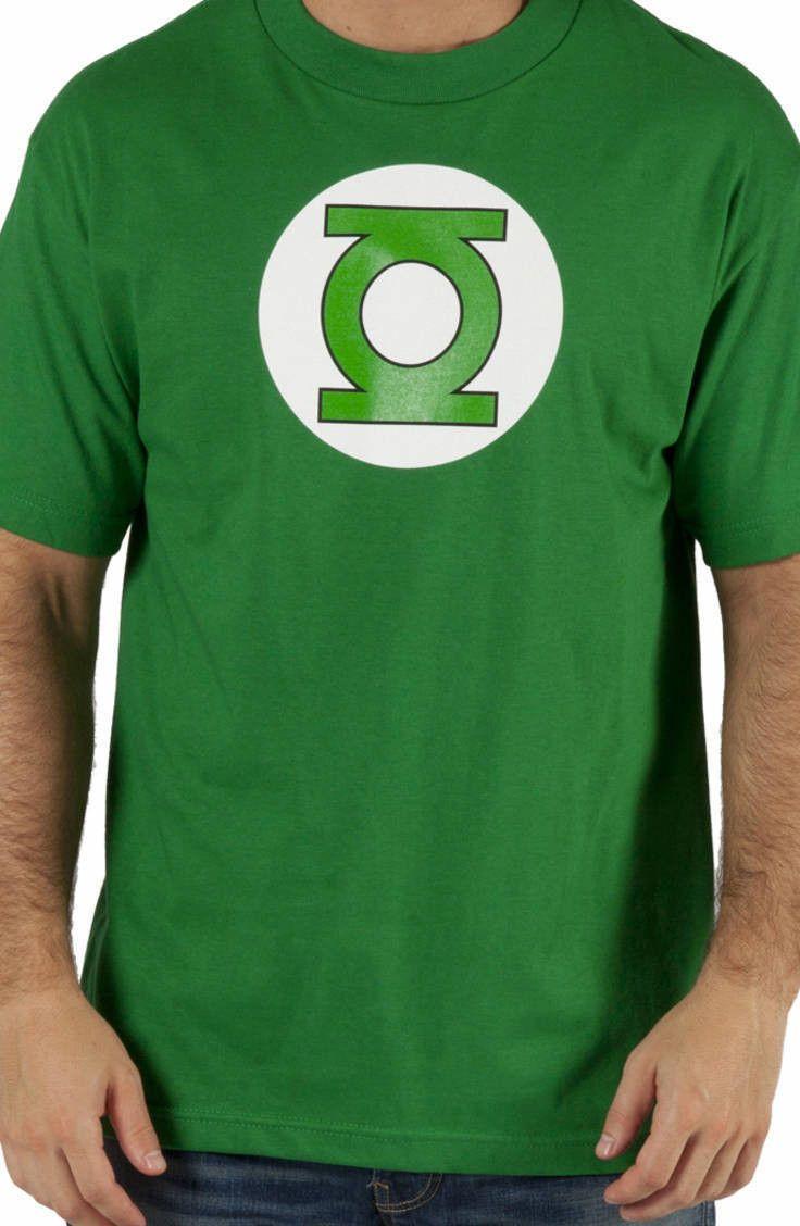 Green Lantern T-Shirt: DC Comics Justice League Green Lantern T-shirt