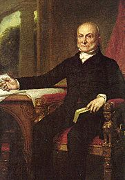 John Quincy Adams was the sixth President of the United States. He served as American diplomat, Senator, and Congressional representative. Presidential Term, March 4, 1825 – March 4, 1829.