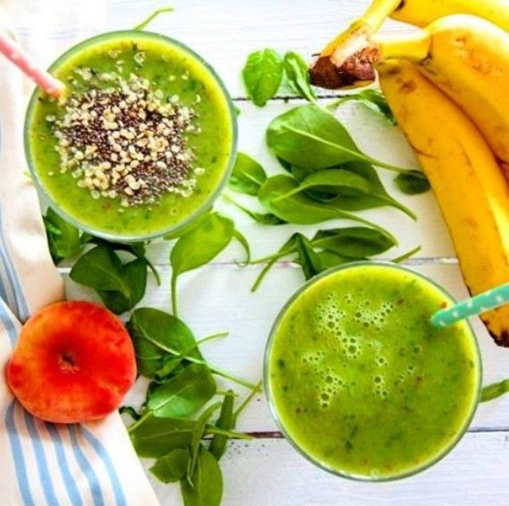Super Good For You Foods #supergoodforyoufoodsorganiccoconutwaterpowder makes this #greensmoothie with #peach #banana #honeydew #avocado #cucumber #babyspinach #mint #coconutwater #chiaseed & #hemp a...