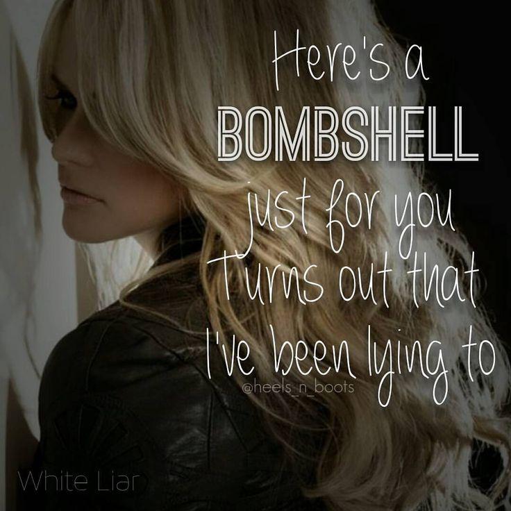 Miranda Lambert - White Liar #MirandaLambert #WhiteLiar #countrymusiclyrics #countrymusic #countrylyrics #countrysong #heels_n_boots