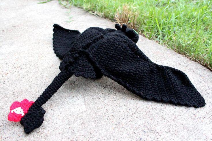 Crochet Pattern Toothless