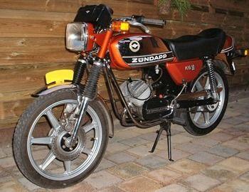 zundapp 529 ks50 1979
