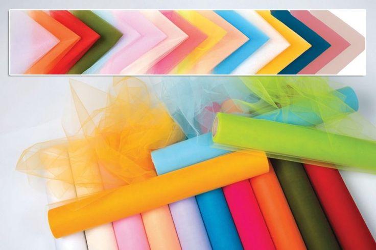 τούλι χρωματιστό