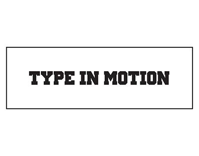 "Check out new work on my @Behance portfolio: ""Motion Type"" http://on.be.net/1Kjo3le"