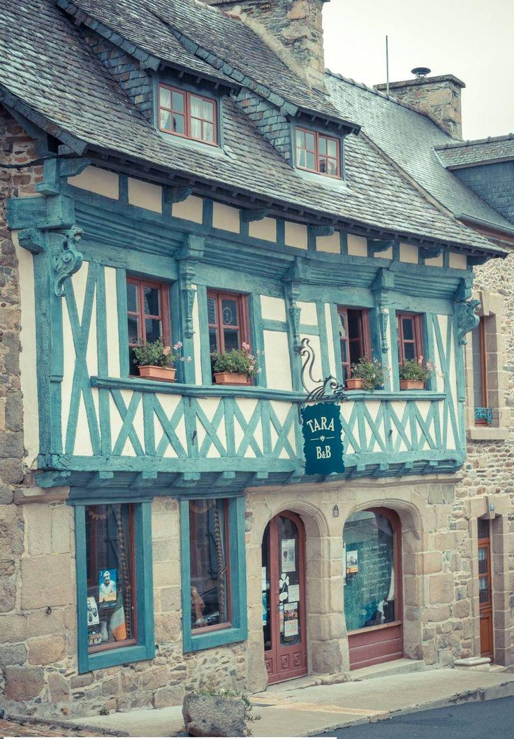 Maison ancienne à Tréguier côtes d'armor Bretagne