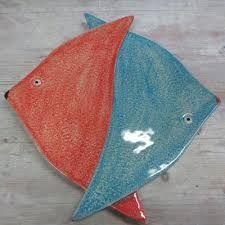 Risultati immagini per pesci in ceramica
