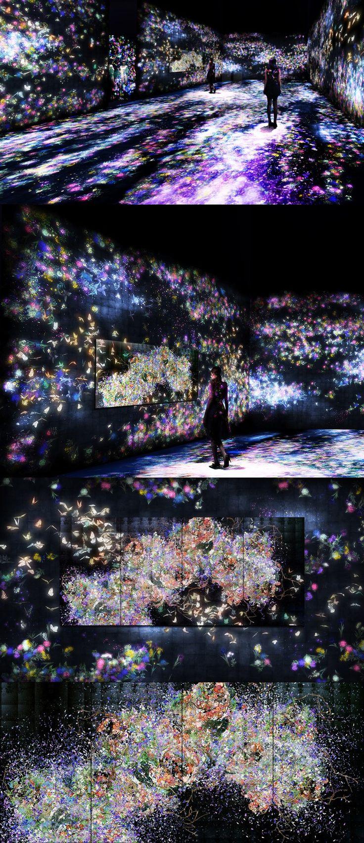 teamlab sends a flutter of butterflies beyond borders into saatchi gallery
