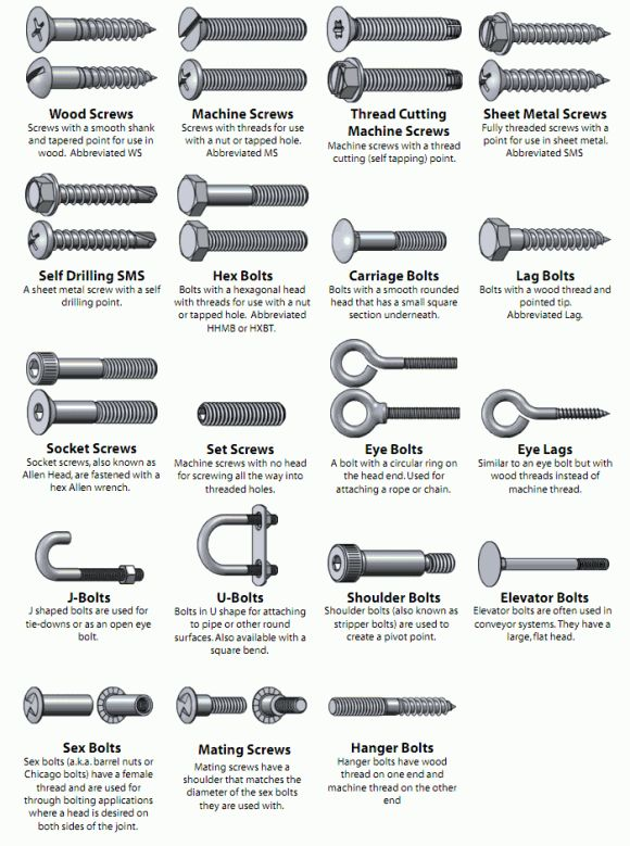 Types-of-Screws