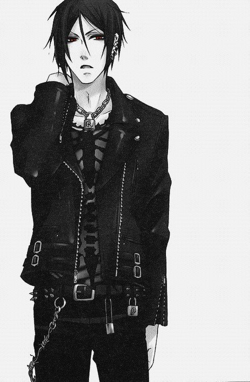 Sebastian Michaelis My best friend loves Black Butler, but when I saw this, I thought, Nico