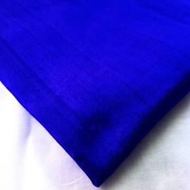 Fabric (Royal blue) Silk