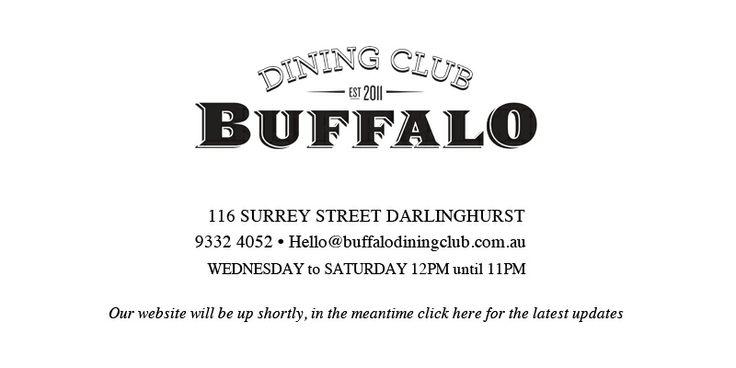 Buffalo Dining Club