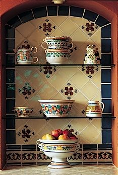 Cocinas Mexicanas Tradicionales - All photos © Melba Levick. Love traditional Mexican kitchens!!