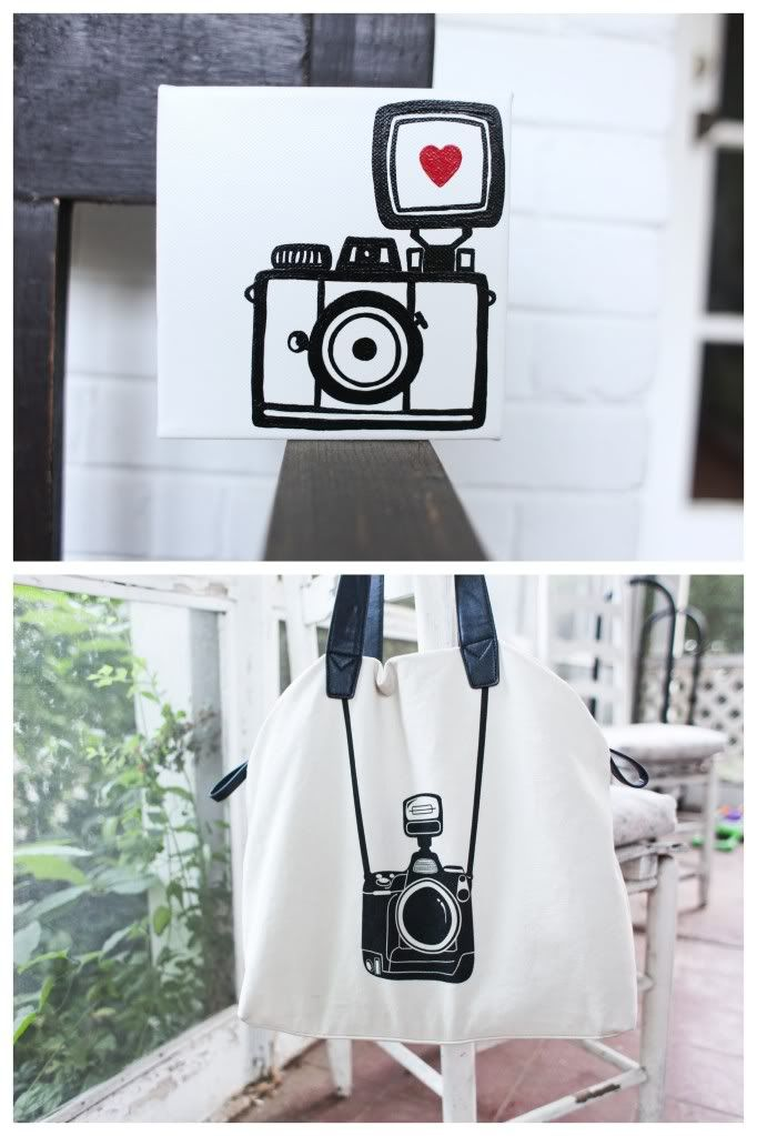 to paint. camera love.