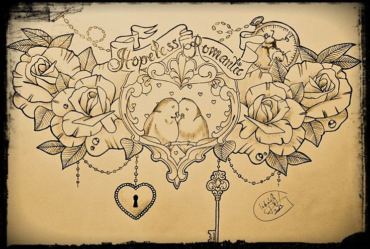 hopeless romantic by Rockingal13.deviantart.com on @deviantART