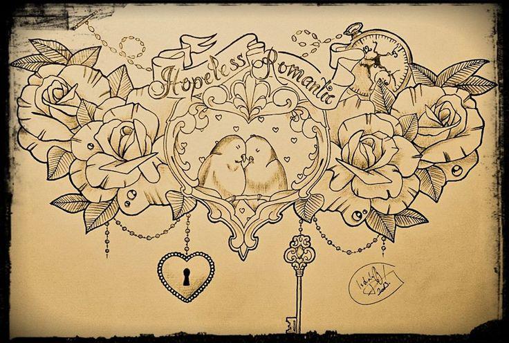 25 best ideas about romantic tattoos on pinterest tattoo fonts cursive wedding invitation. Black Bedroom Furniture Sets. Home Design Ideas