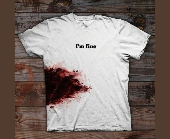 Camiseta de zumbi