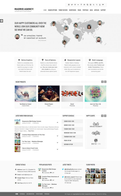 Madrid Retina Multi-Purpose WordPress Theme, #PHP, #Premium, #Responsive, #Retina, #RTL, #Theme, #Web #Design, #Development, #WordPress