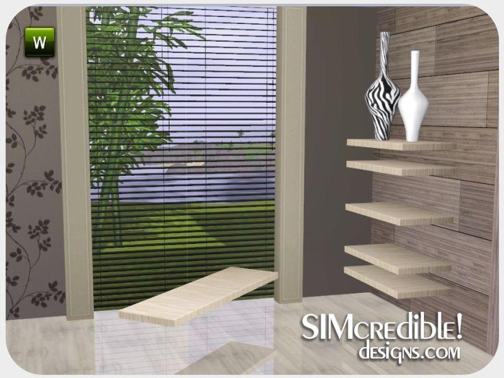 SIMcredible! : Serene Hues Sectional Shelf