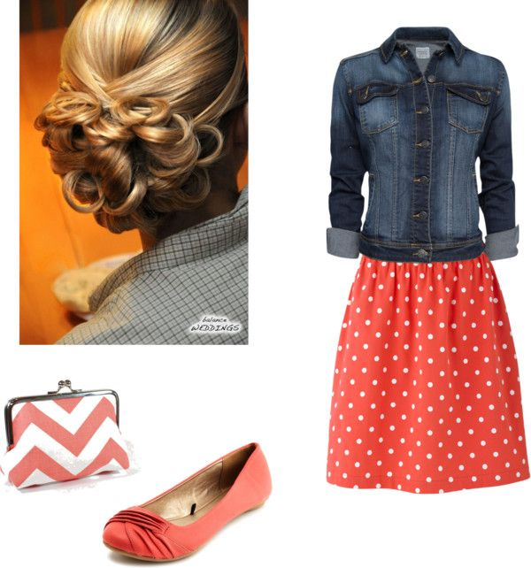 I love EVERYTHING!!!!!!!! Hair, clutch, shoes, skirt, and jacket!!! My favorite outfit so far!!!! ~Alaina~