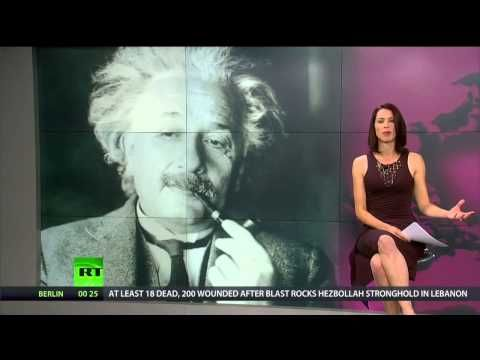 "EINSTEIN'S CIRCLE OF COMPASSION. Abby Martin gives a heartfelt remark about Einstein's ""Circle of Compassion"" by reflecting on how to balance personal stability with the plight of humanity by establishing a sense of global empathy."