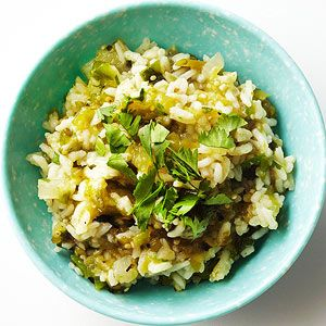 Mexican Green Rice From Better Homes and Gardens, ideas and improvement projects for your home and garden plus recipes and entertaining ideas.
