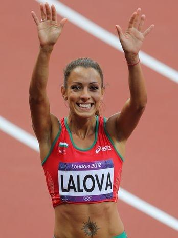 Ivet Lalova (BUL) - atletismo  Foto: Reuters