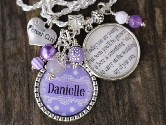 Check out this item in my Etsy shop https://www.etsy.com/listing/478890196/personalized-flowergirl-gift