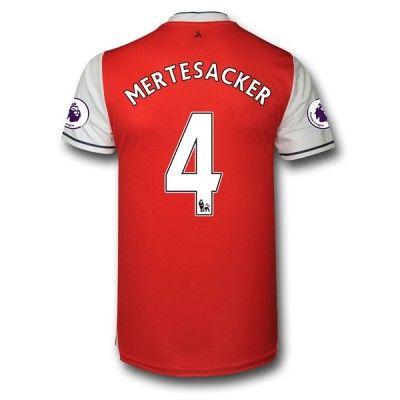Arsenal 16-17 Per Mertesacker 4 Hjemmebanetrøje Langærmet.  http://www.fodboldsports.com/arsenal-16-17-per-mertesacker-4-hjemmebanetroje-langermet.  #fodboldtrøjer