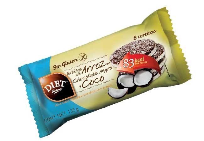 Tortitas de maíz con CHOCOLATE negro. Ligeras y sabrosas tortitas de maíz bañadas con chocolate negro. Tienen pocas calorías y gran volumen, por lo que proporcionan una agradable sensación de saciedad. Además son aptas para dietas sin gluten. PRESENTACIÓN: Paquete de 125 g