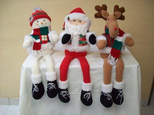 Patas largas Muñecos de Navidad...  100_2489.jpg (600×450)