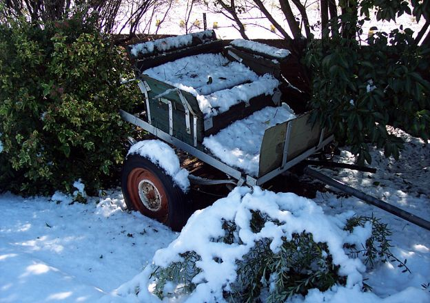 Dit sneeu sommer lekker dik by Rondefontein Guest Farm.