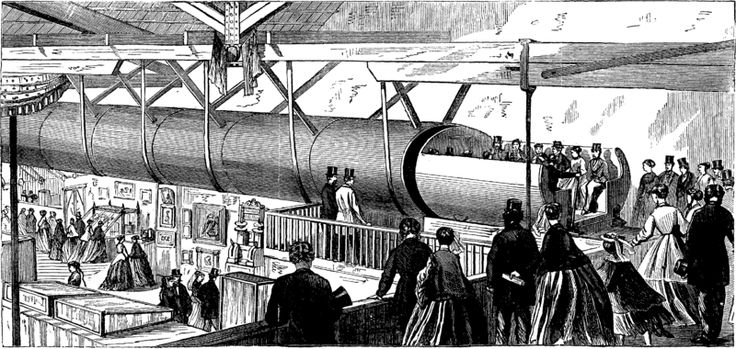 A brief history of the pneumatic tube transport systems that never were